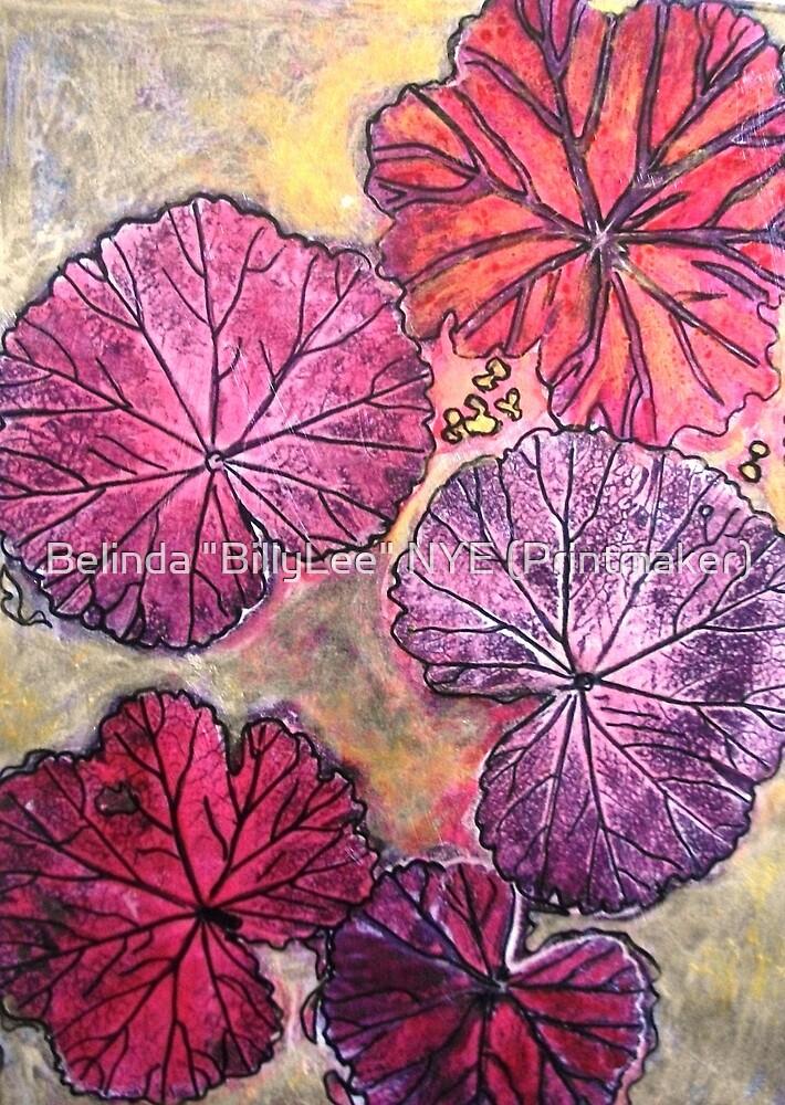 Quot November S Garden 10 Monoprint Quot By Belinda Quot Billylee