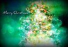 Merry Christmas Tree by Vanessa Barklay