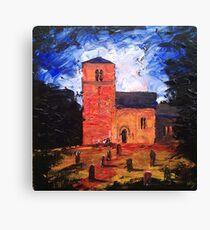 'Saxon Church, Kirk Hammerton' Canvas Print