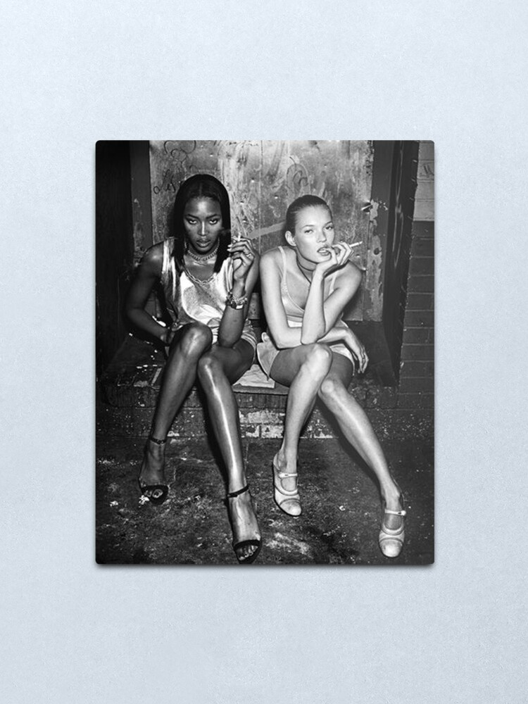 Alternate view of Naomi and Kate I Metal Print