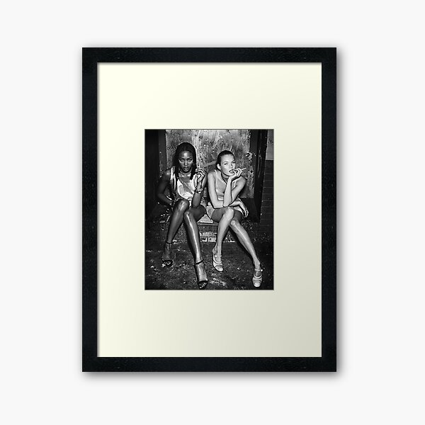 Naomi and Kate I Framed Art Print