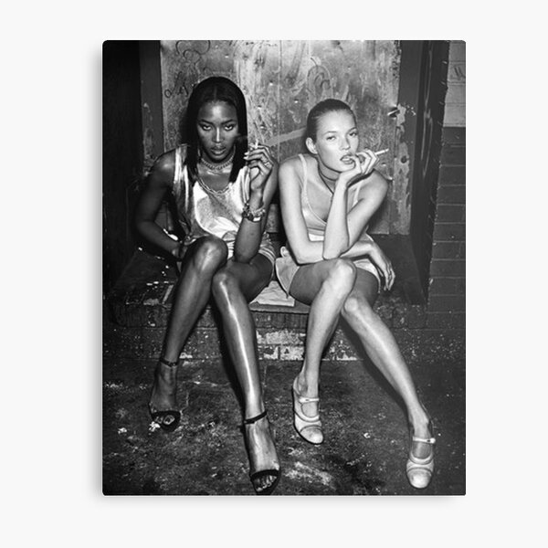 Naomi and Kate I Metal Print