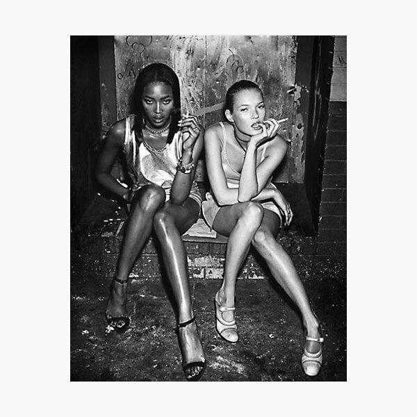 Naomi and Kate I Photographic Print
