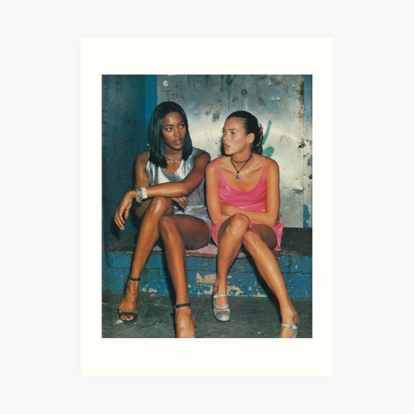 Naomi and Kate II Art Print