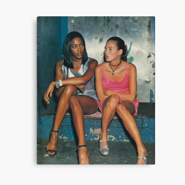 Naomi und Kate II Leinwanddruck