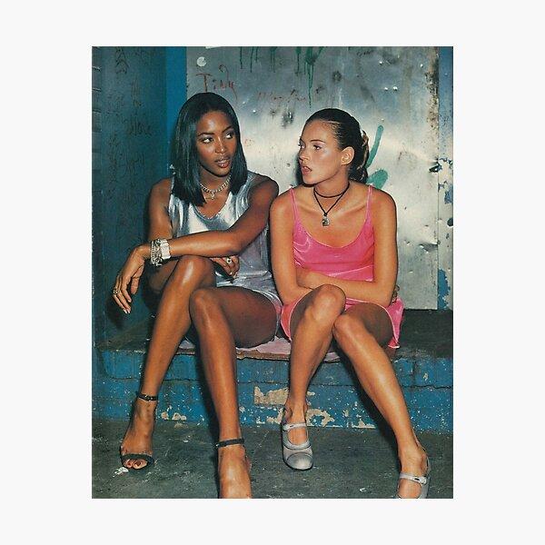 Naomi and Kate II Photographic Print