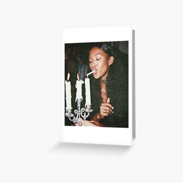Naomi Campbell : Light Greeting Card