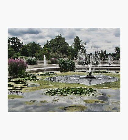Italian Garden, Hyde Park. Photographic Print