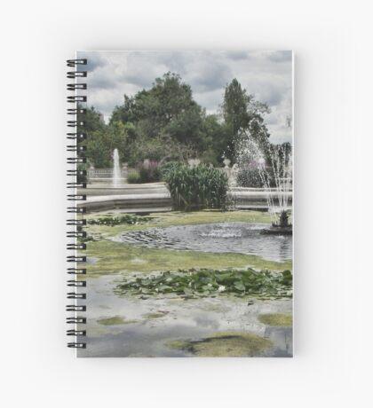 Italian Garden, Hyde Park. Spiral Notebook