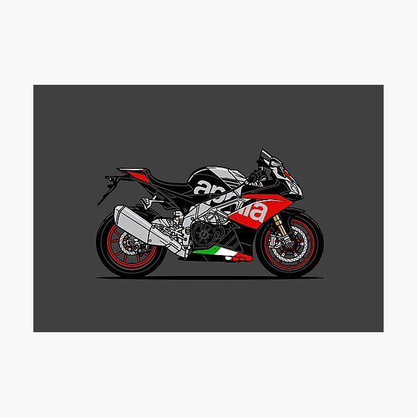 RSV4 RF Super Sports Motorcycle Photographic Print