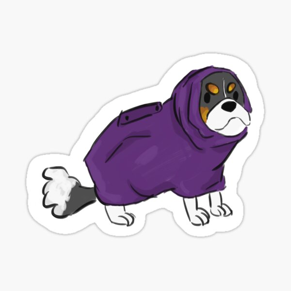 drying coat polly Sticker