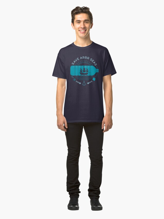 Alternate view of Save Arrr Seas Classic T-Shirt