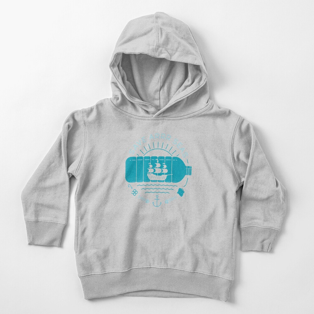 Save Arrr Seas Toddler Pullover Hoodie