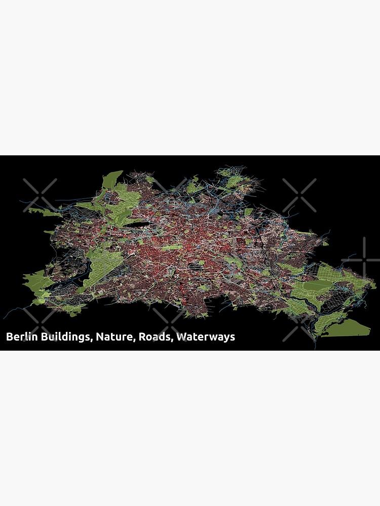 Berlin Buildings, Nature, Roads, Waterways - Print by ramiro