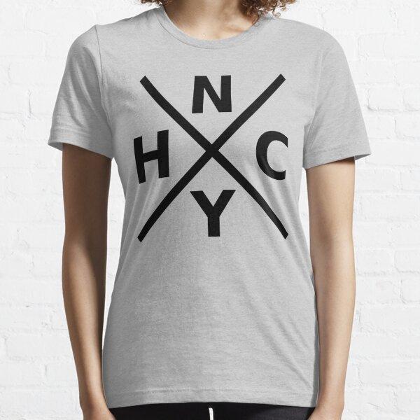 NYHC - New York Hardcore Logo Black Font Essential T-Shirt