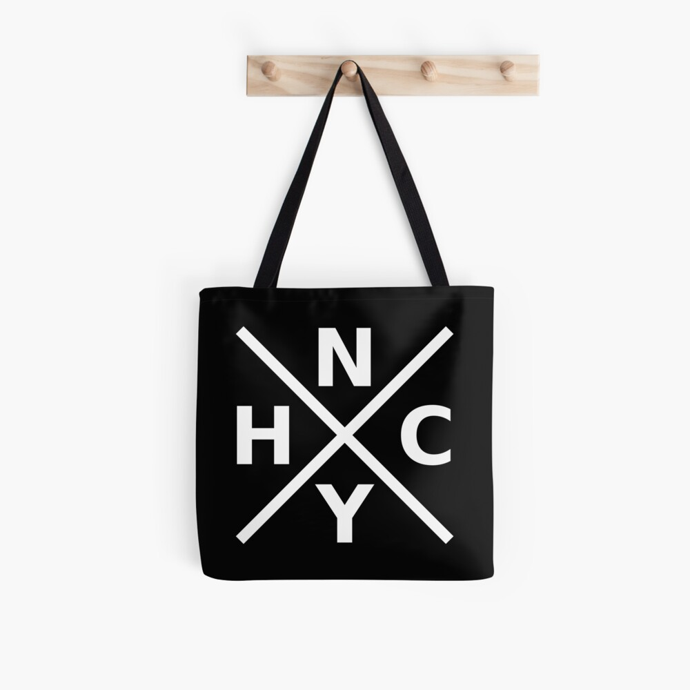 NYHC - New York Hardcore Logo White Font Tote Bag