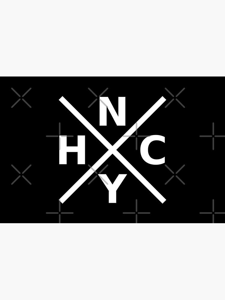 NYHC - New York Hardcore Logo White Font by ramiro