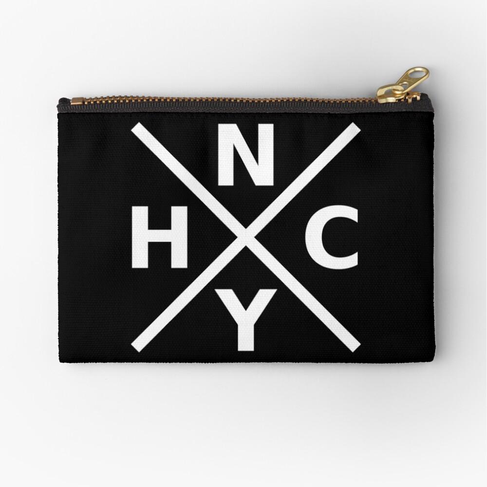 NYHC - New York Hardcore Logo White Font Zipper Pouch
