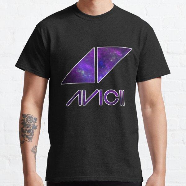 Avicci Galaxy/Nebula - white outline Classic T-Shirt