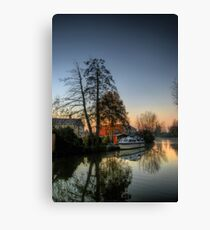 Misty Days & Mondays Canvas Print