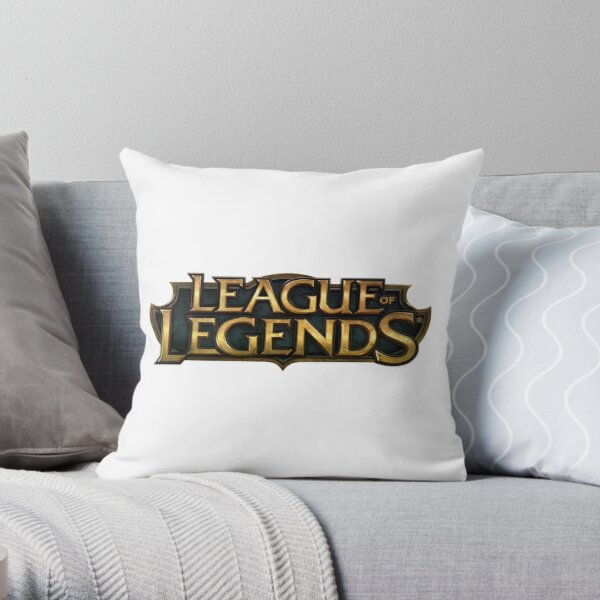 League of Legends full title Throw Pillow