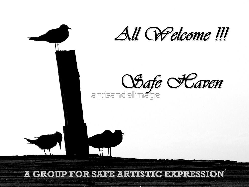 Safe Haven Group Banner by artisandelimage