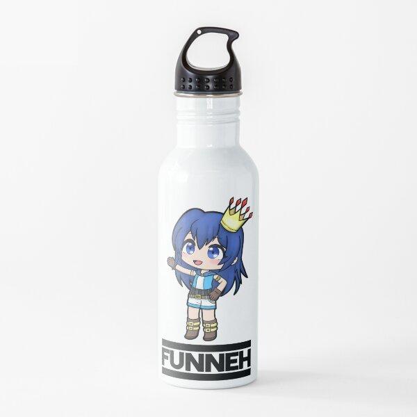 Estilo Funneh Gacha Botella de agua