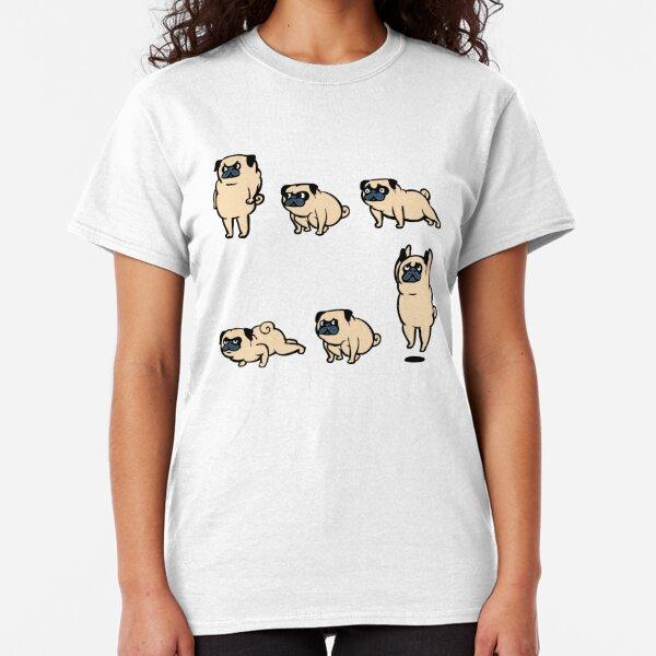 Mops Burpees Classic T-Shirt