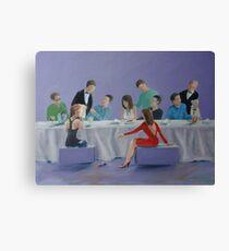 Supper Canvas Print