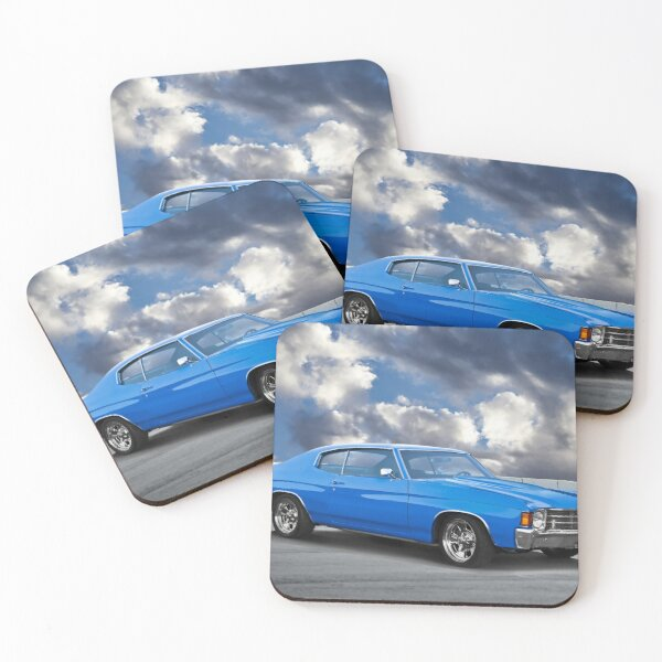 1972 Chevrolet Chevelle Malibu Coasters (Set of 4)