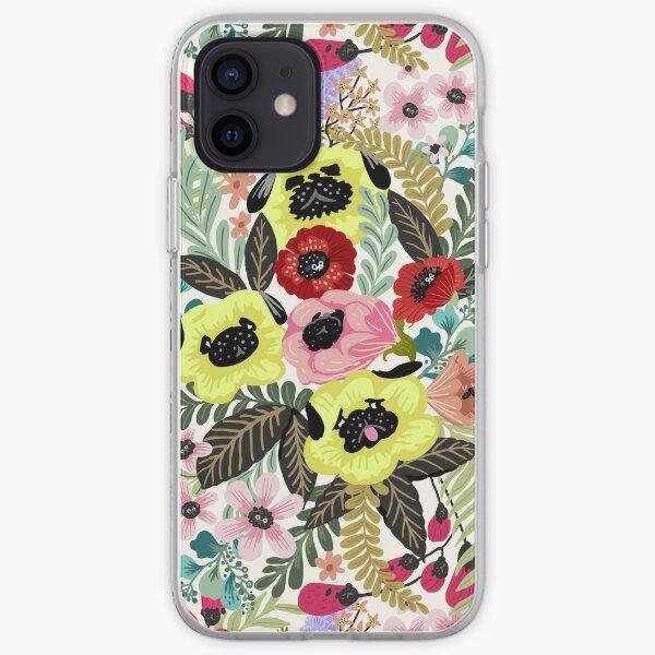 Flower Pugs iPhone Soft Case