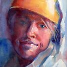 A Portrait A Day 30 - Abrianna the Conqueress of Glaciers by Yevgenia Watts