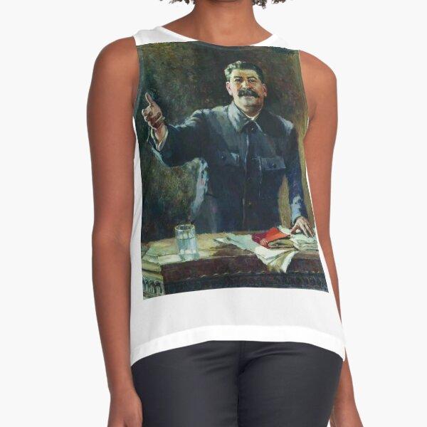 Художник Александр Герасимов Aleksandr Mikhaylovich Gerasimov was a leading proponent of Socialist Realism in the visual arts, and painted Joseph Stalin and other Soviet leaders. Sleeveless Top