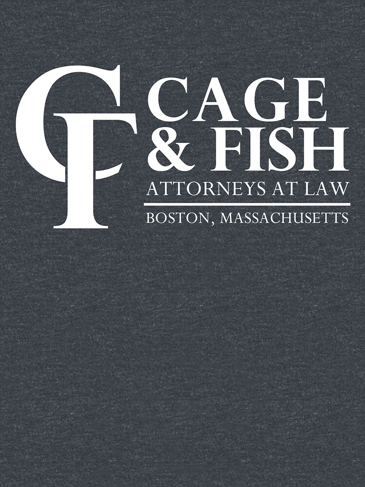Cage and Fish Attorneys at Law inspired by Ally McBeal by landobry