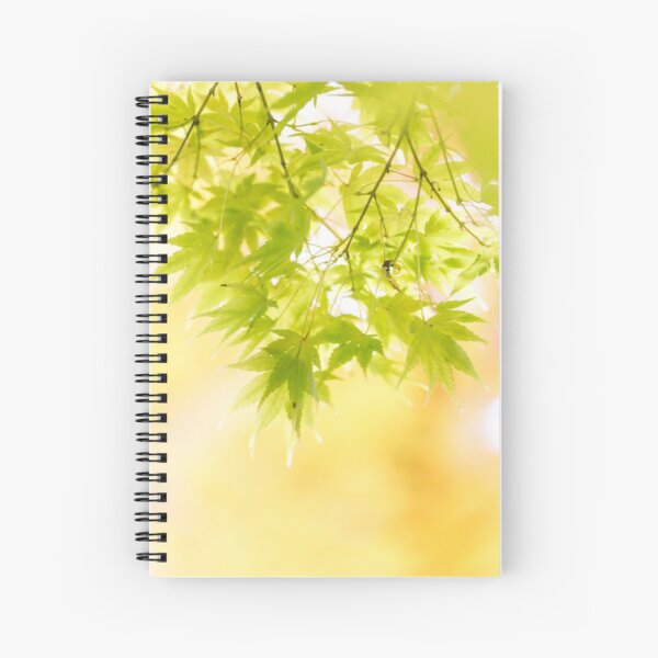Dreamy Acers (portrait) Spiral Notebook