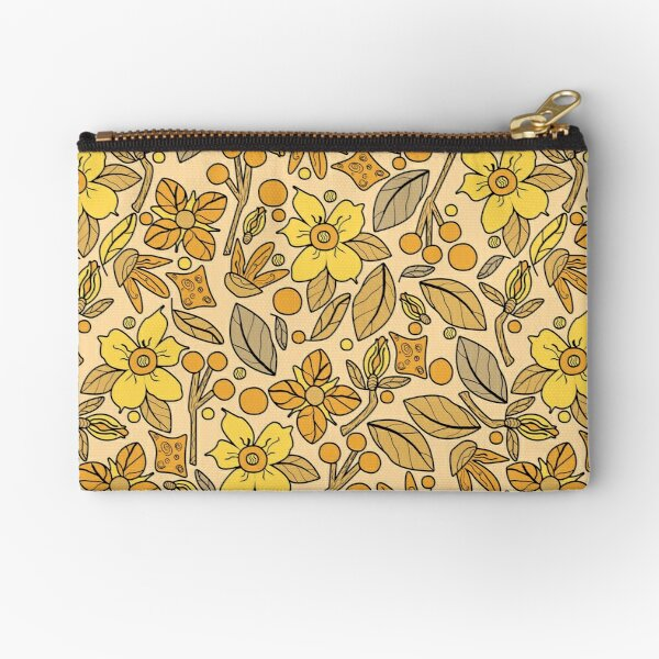 Naturals in Honey Light Zipper Pouch