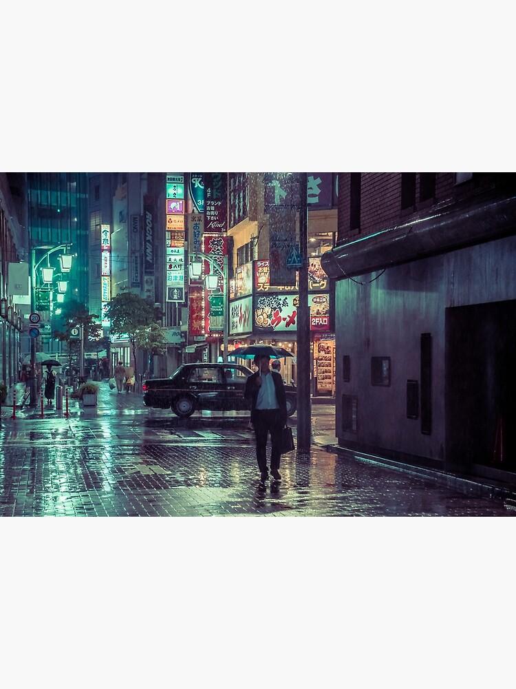 The Smiling Man // Rainy Tokyo Nights by HimanshiShah
