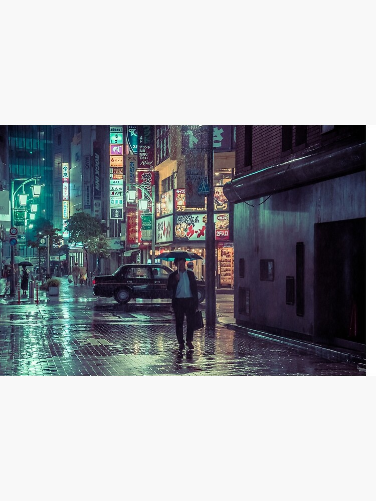 The Smiling Man // Rainy Tokyo Nights by HimanshiShah