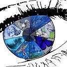 eye completed collab by Ellen Keagy