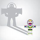 Childhood Beliefs - Buzz Lightyear by Gareth Leyshon