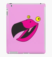 Beaker pink bird  iPad Case/Skin