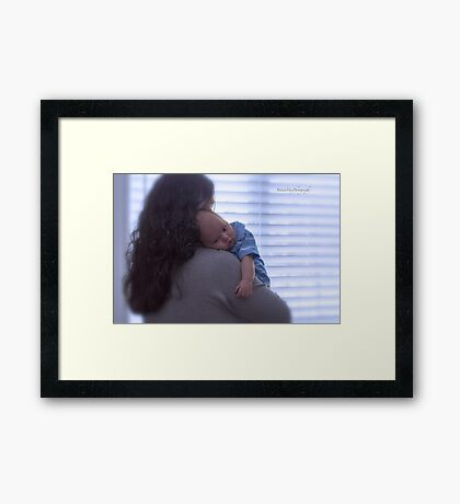 Happy Mother's Day! Framed Print