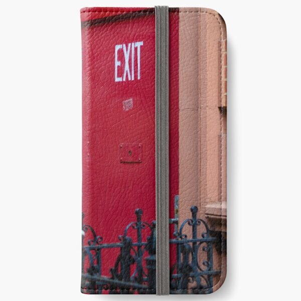 Exit iPhone Flip-Case