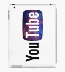 Cosmic YouTube Logo iPad Case/Skin