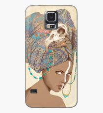 Queen of Clubs Case/Skin for Samsung Galaxy