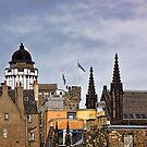 Edinburgh Rooftops by Lynne Morris