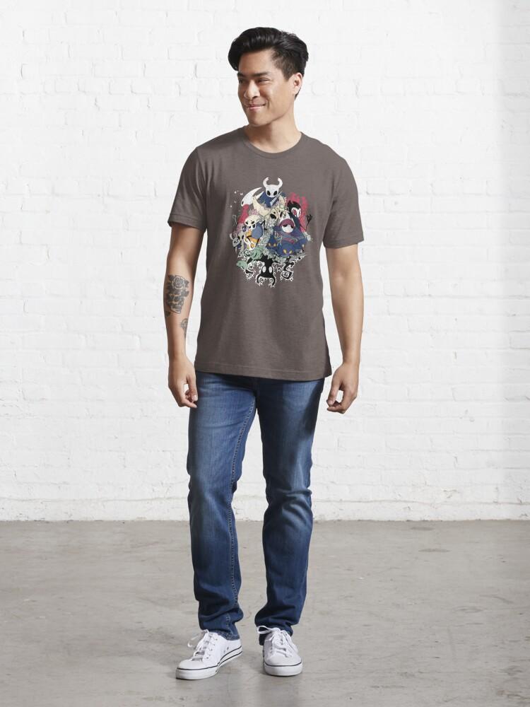 Vista alternativa de Camiseta esencial Tripulación hueca