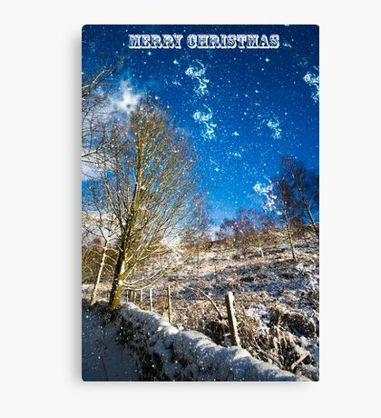 Merry Christmas, Canvas Print
