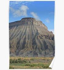 Mt. Garfield stands tall Poster