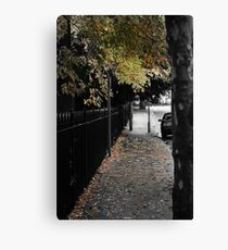 The Streets Are Littered With The Dead of the Fall Canvas Print